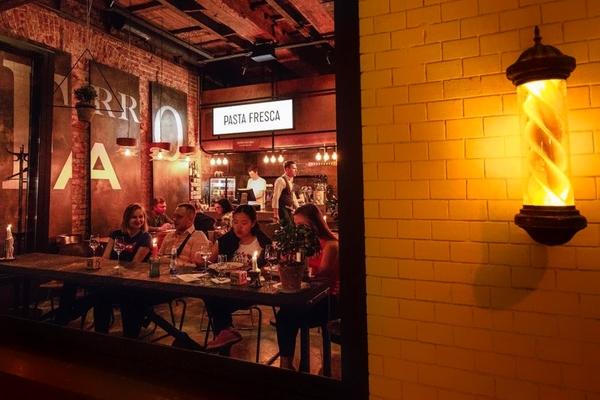 Farro Pasta Bar