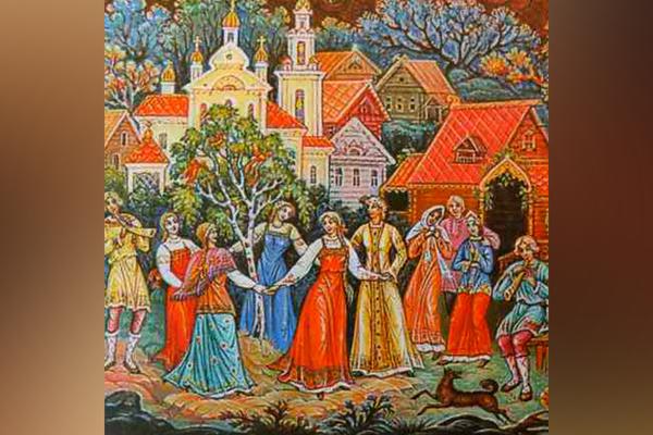 Лики любви русской деревни