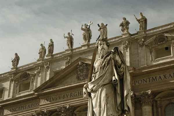 Собор Святого Петра и церкви Рима