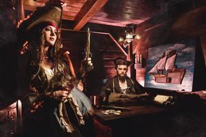 Пираты Карибского моря. Ацтекское золото