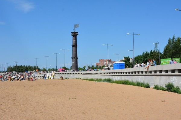 В парке 300-летия Санкт-Петербурга