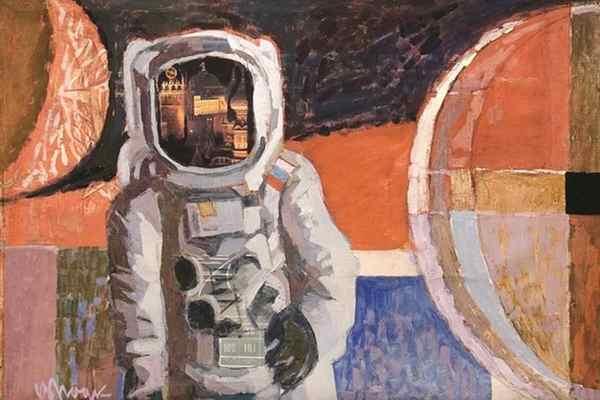 Космос крупными мазками