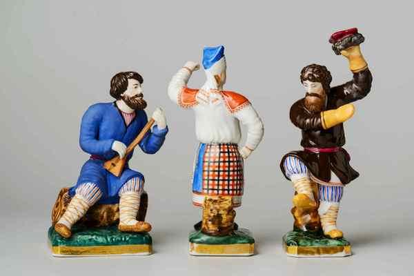 Русская фарфоровая скульптура конца XVIII – начала XX века