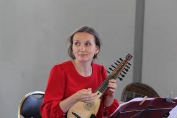 Музыка для мандолины и клавесина