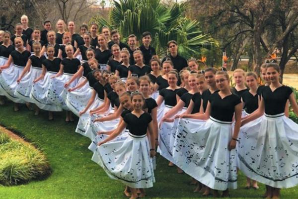 Детский хор, оркестр и солисты межшкольного эстетического центра города Краснодара