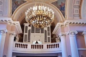 Концерт музыки для скрипки и органа под музыку Вивальди