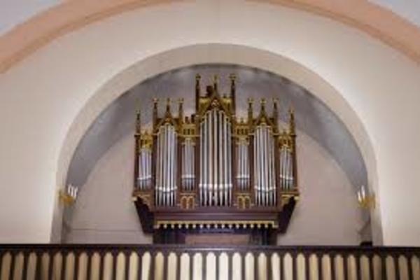 Октябрь под скрипку и орган: Бах, Райнбергер, Волошинов