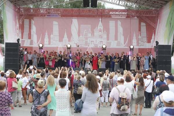 """Танцевальный марафон """"Московского долголетия"""""""