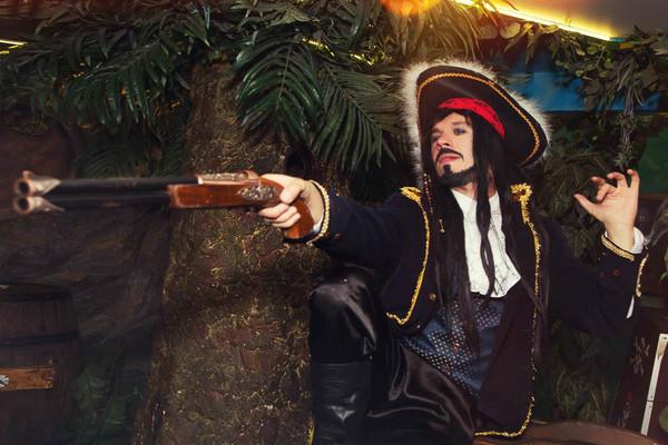Пираты в Карибском море