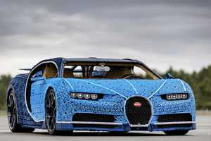 Показ уникальной машины LEGO и выставка ретроавтомобилей
