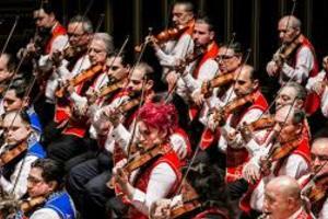 Будапештский симфонический оркестр цыган «100 скрипок»