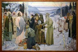 М. В. Нестеров. Святая Русь. Реставрация