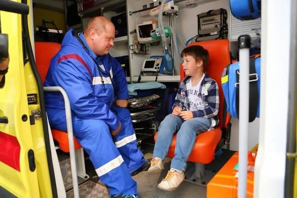 Фестиваль московской скорой помощи