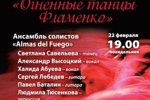 Огненные танцы Фламенко