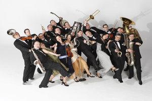 Рождественский концерт джазового оркестра «Bratislava Hot Serenades».