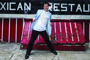 an evening with Dick Valentine (Electric Six)