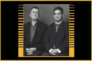 Венгерский этно-джаз. Дуэт Миклоша Лукача и Михая Дреша. Концерт в оранжерее