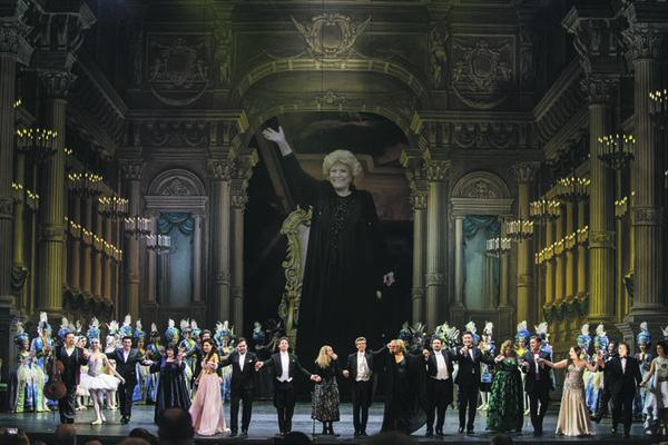Оперный бал Елены Образцовой