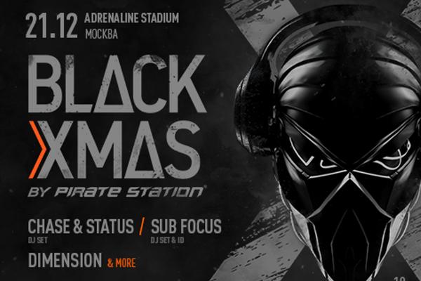 Black X-Mas by Pirate Station