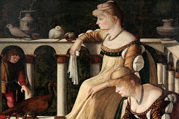 Витторе Карпаччо. «Две венецианские дамы». Из собрания Фонда Городских музеев Венеции (Музей Коррера)