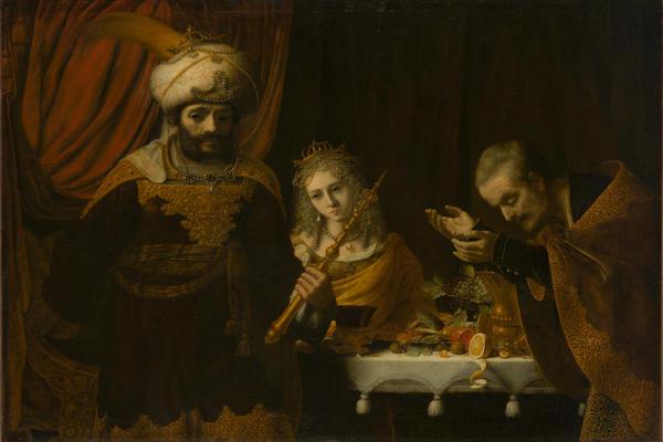 Эрмитаж – Году Рембрандта. «Падение Амана»: картина Рембрандта в зеркале времени