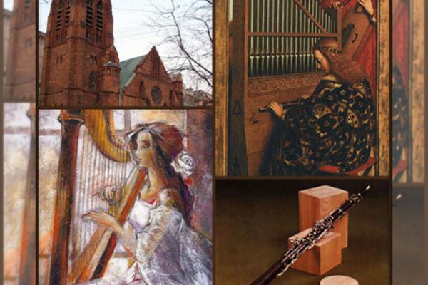 Романтический вечер с арфой, органом и саксофоном