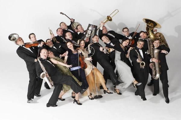 Bratislava Hot Serenaders. Концерт словацкого джазового оркестра