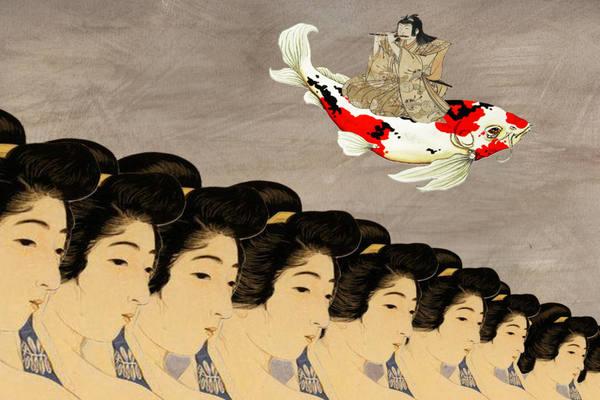 Ожившее японское искусство Сюнга