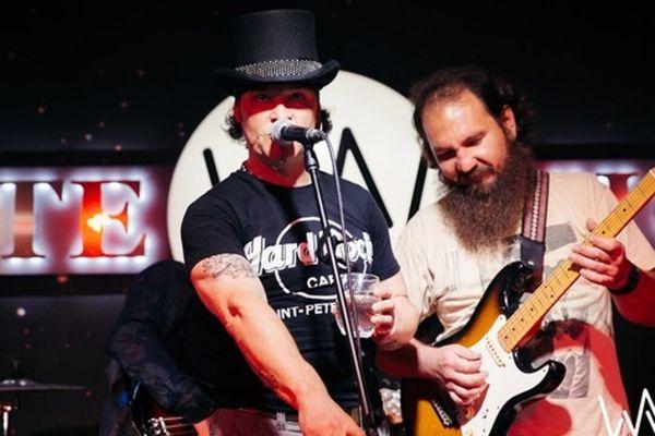 Atomic Jam Band. Блюз на сцене White Night
