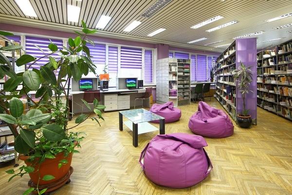 Библиотека № 214 имени Ю. А. Гагарина