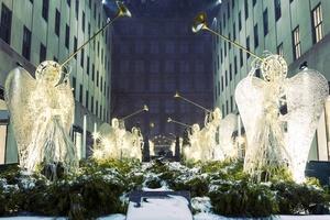 Рождественский вечер в Нью-Йорке