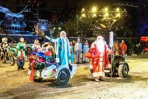 Новогодняя ночь в байк-центре