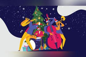 Рождественский джаз с симфоническим оркестром