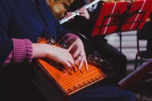 World music в Кафедральном. Christmas Gala. Орган, дудук, оркестр гусляров