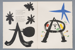 «Цвет, ритм, юмор»: Книги Жоана Миро из собрания Марка Башмакова