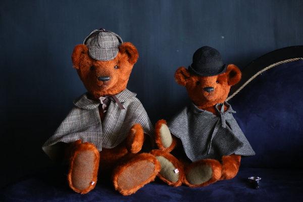 XI Московская международная выставка коллекционных мишек Teddy