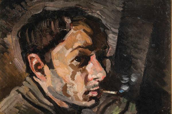 Юрий Анненков. Революция за дверью
