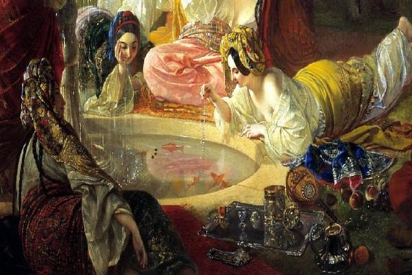 Пушкин. Бахчисарайский фонтан. Орган, дудук и саксофон