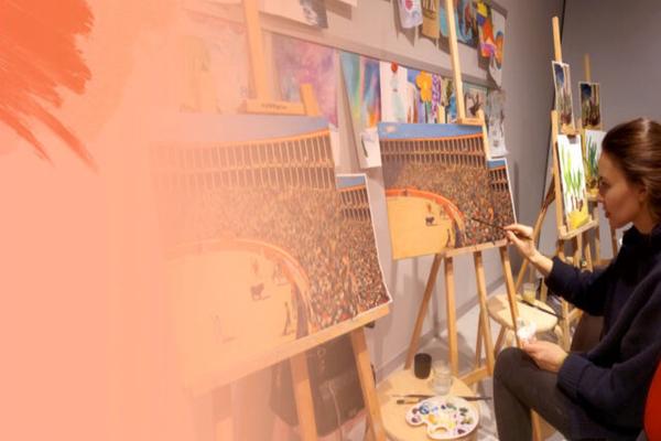 Мастер-класс для взрослых «В мастерской испанского художника»
