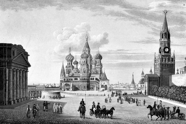 Эволюция города. Москва: борьба дерева и камня