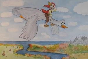 Сказка с органом и песочной анимацией «Путешествие Нильса с дикими гусями»