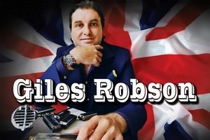 British blues invasion, Giles Robson. Pre-party – шоу «Блюз на виниле»