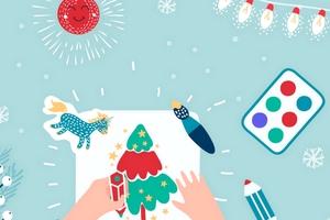 Детский рождественский мастер-класс