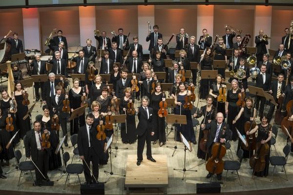 Омский академический симфонический оркестр. Д. Шаповалов