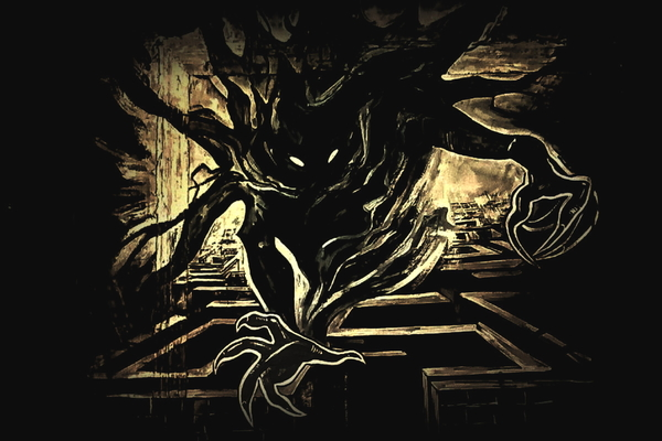 Лабиринт в темноте