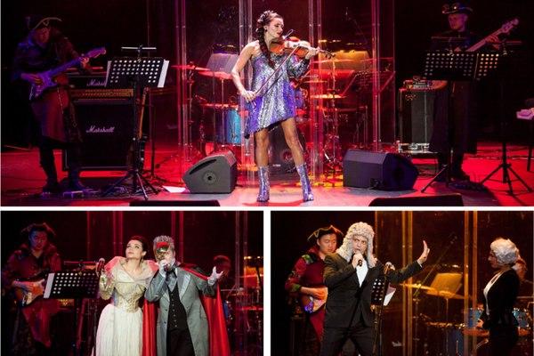 A. Vivaldi, Deep Purple, Queen, Led Zeppelin, Ozzy Osbourne, Nirvana — в проектах «LEONARDA» и «Opera XXI»