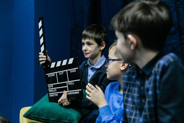 Школьная экскурсия в киностудию «Твое кино»