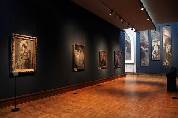 Государственная Третьяковская галерея: виртуальные выставки