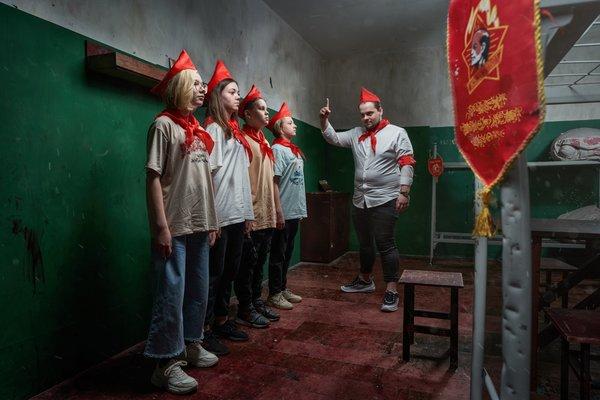 Лагерь строгого режима