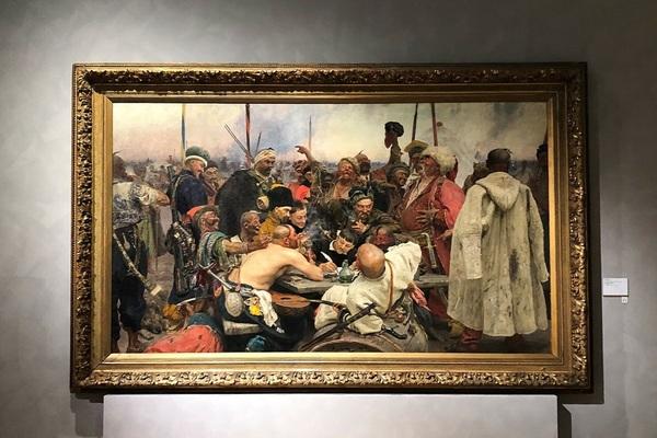 Аудиотур: Выставка Ильи Репина
